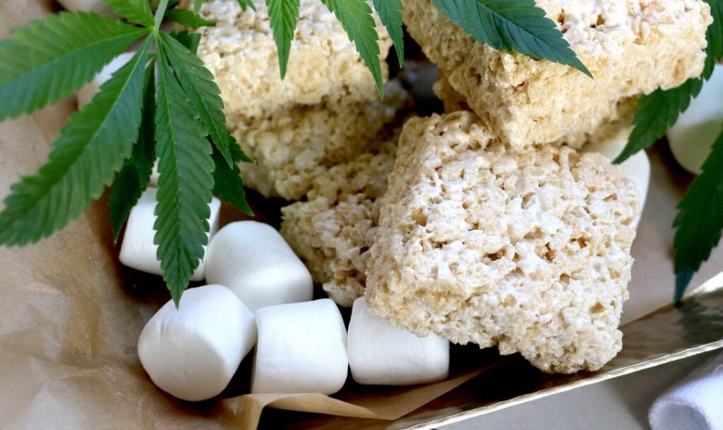 rice krispie treats edibles recipe