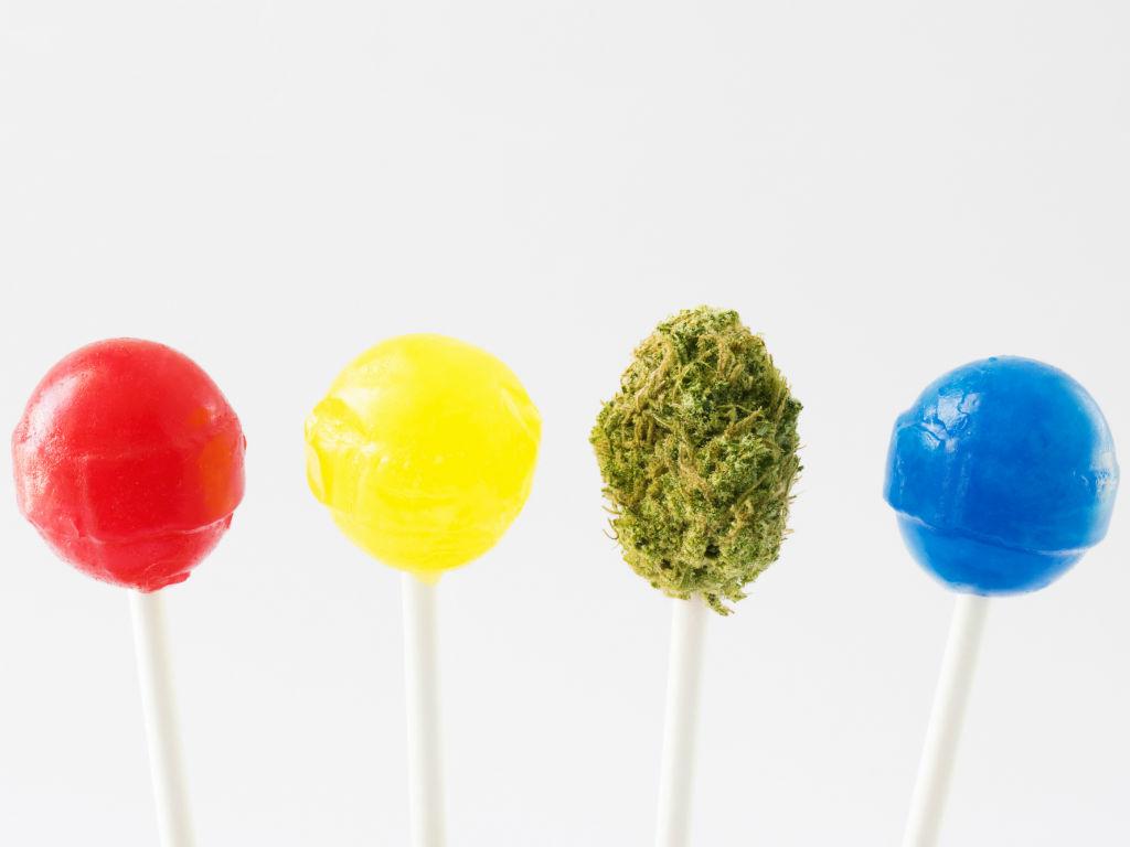 Weed Lollipops