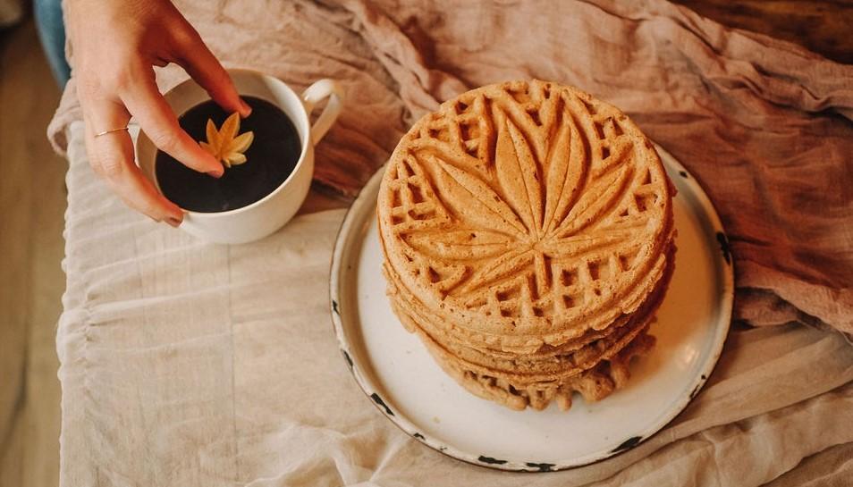weed waffle