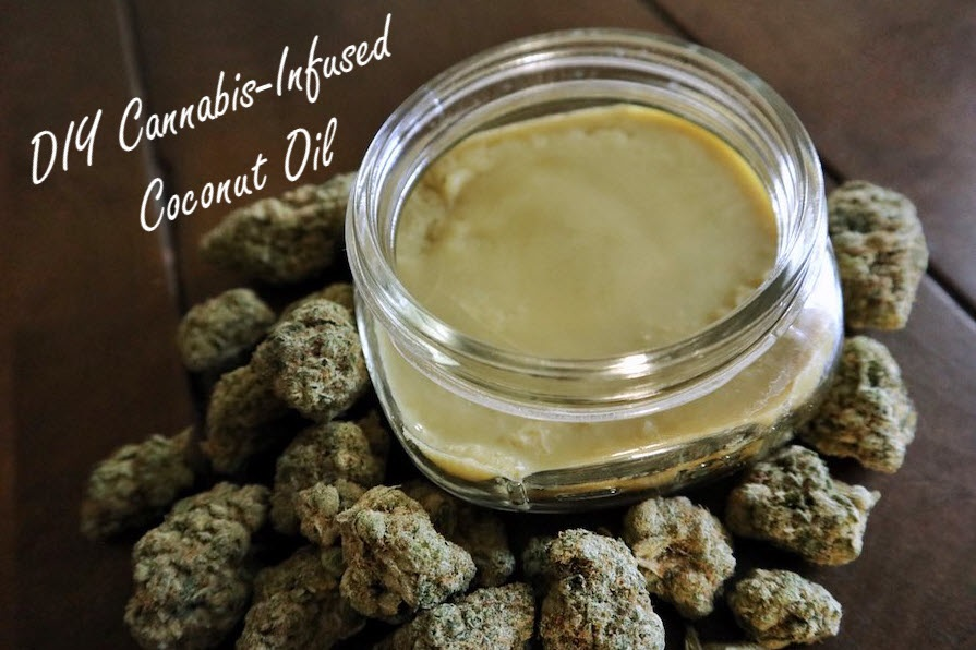 weed coconut oil