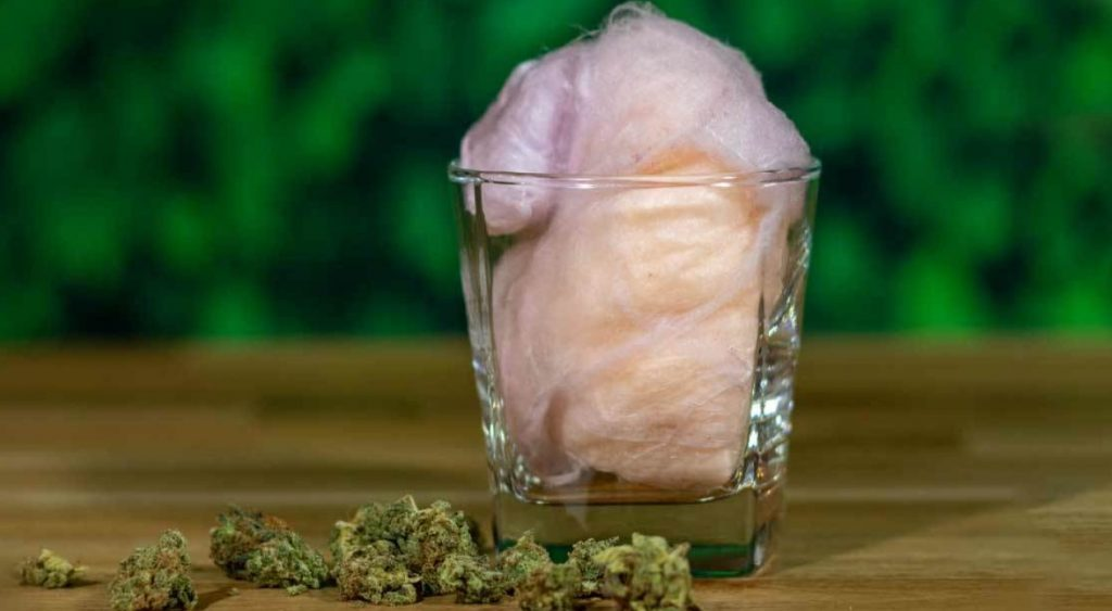 cannabis cotton candy