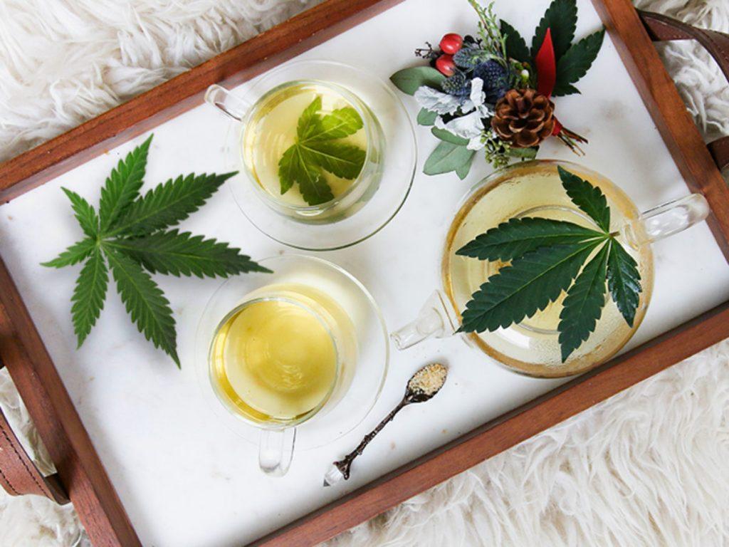making marijuana tea