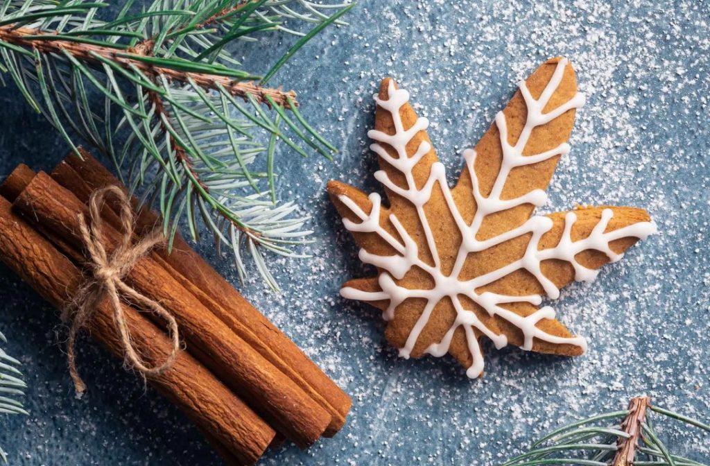Cannabis christmas cookies