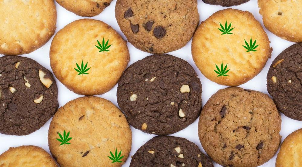 Making cannabis cookies