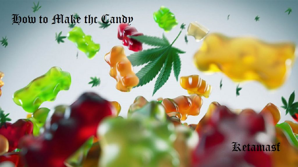 how to make thc candy