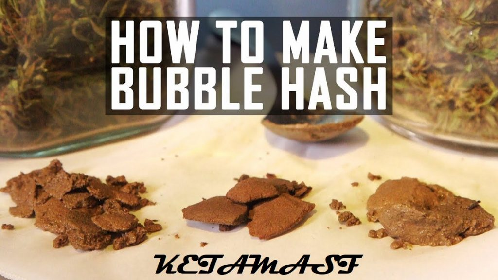 making bubble hash