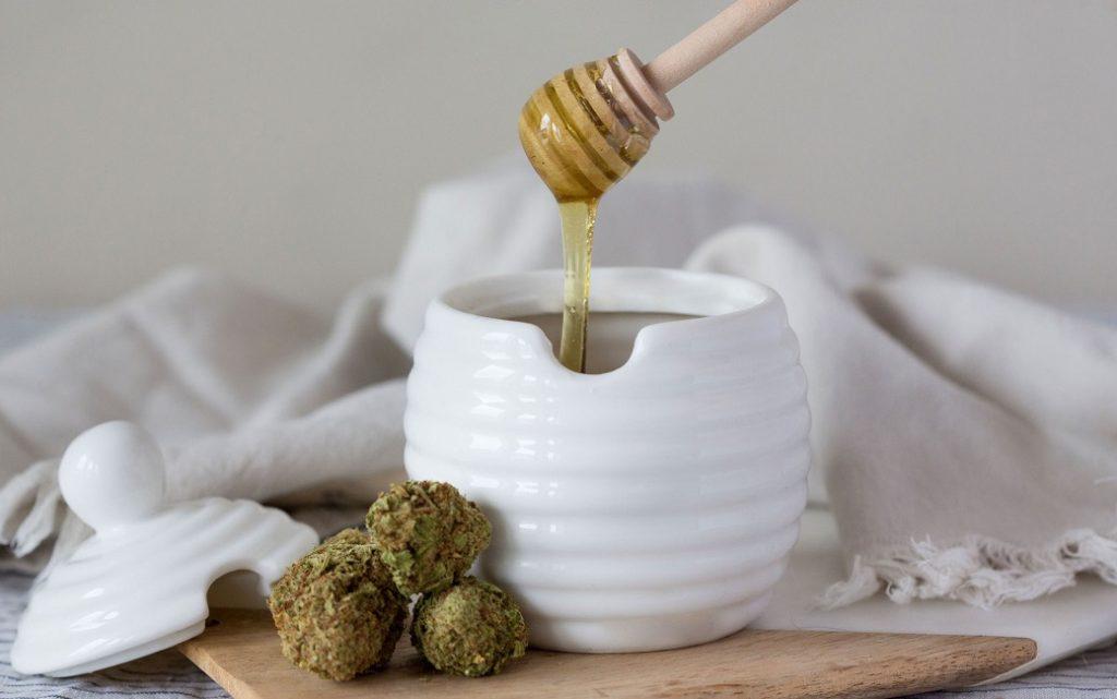 weed infused honey